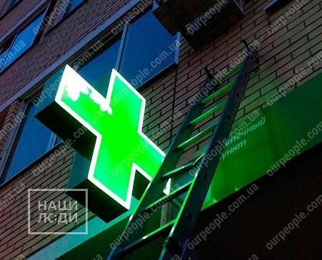 Изготовление аптечных крестов