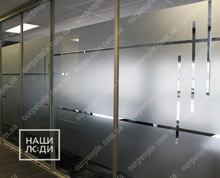 Тонировка стеклянных перегородок