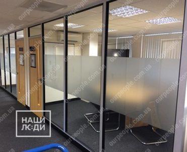 Декоративные матовые полосы на стекло
