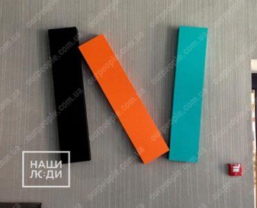 Изготовление логотипа из пластика