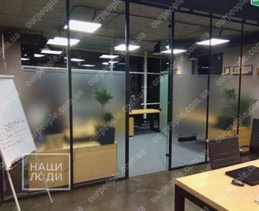Тонировка стекол офисных перегородок, дверей