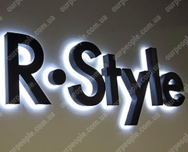 Логотип компании. Изготовление объемных логотипов для офиса