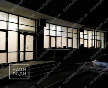 Тонировка дверей и стекол офиса