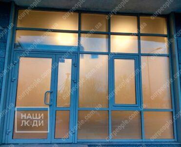 Нанесение пленки сатин, тонировка стекол