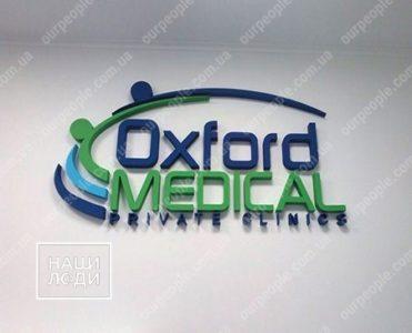 Объемный логотип на стену
