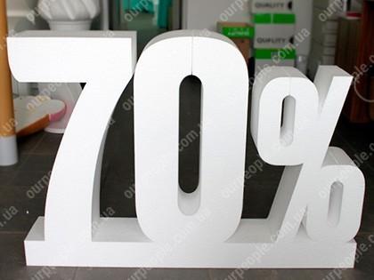 Объемные буквы для оформления витрин