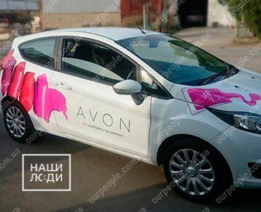 Рекламное брендирование авто