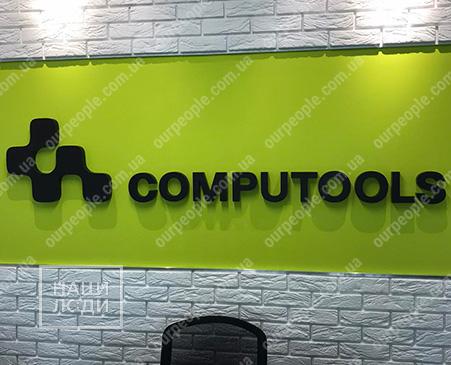 Об`ємний логотип на стіну офісу