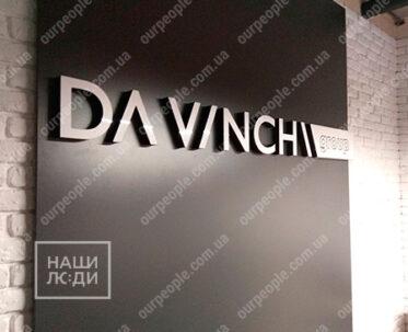 Буквы объемные из акрила, объемные буквы на стену